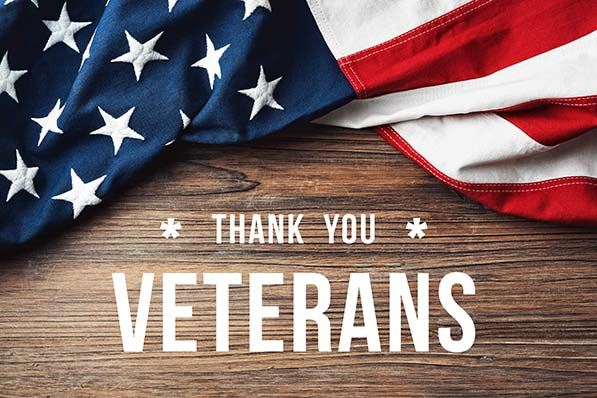 Don't forget our military veterans!