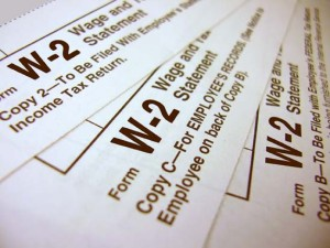 EITC, W-2, Earned Income Tax Credit