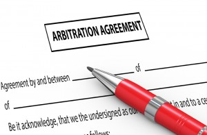 arbitration agreement class action waiver