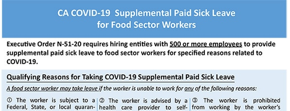 Covered employers are required to post this notice in a conspicuous place.