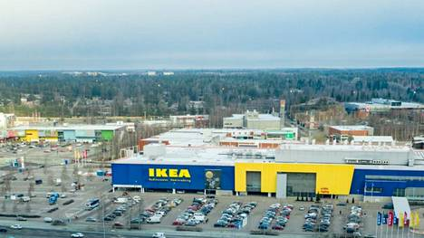 The erotic movement moved behind Ikea in Vantaa, to an area known as Porttipuisto, where there are many furniture stores, for example.
