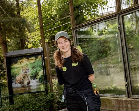 By the end of Korkeasaari last year, Viivi Halonen was afraid for a while for her summer job.  The zoo ensured that the work was completed in good time.
