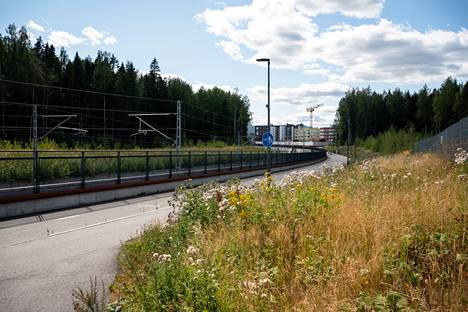 Kivistö's new apartment buildings have so far been built on the north side of the Ring Road.