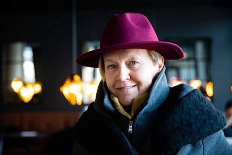 Poet, translator Helena Sinervo 2021.