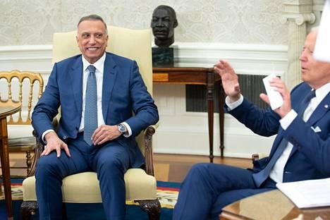 Iraqi Prime Minister Mustafa al-Kadhimi visited US President Joe Biden at the White House last Monday.