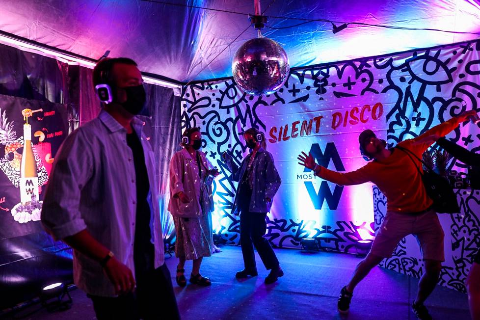 There is also a Silent Disco in the area.