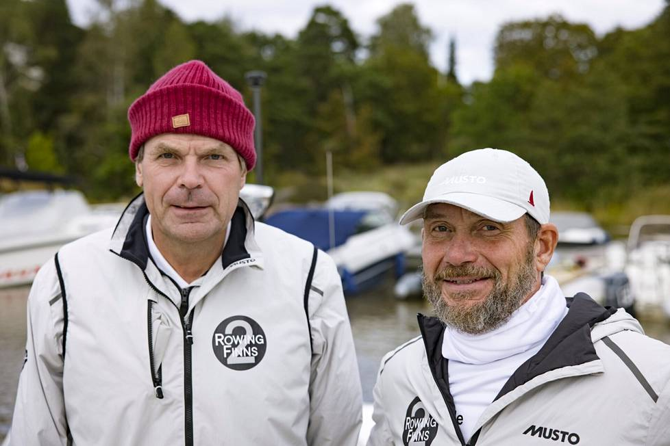 For whom Blässar and Markus Mustelin will take part in the Transatlantic Rowing Competition in December.