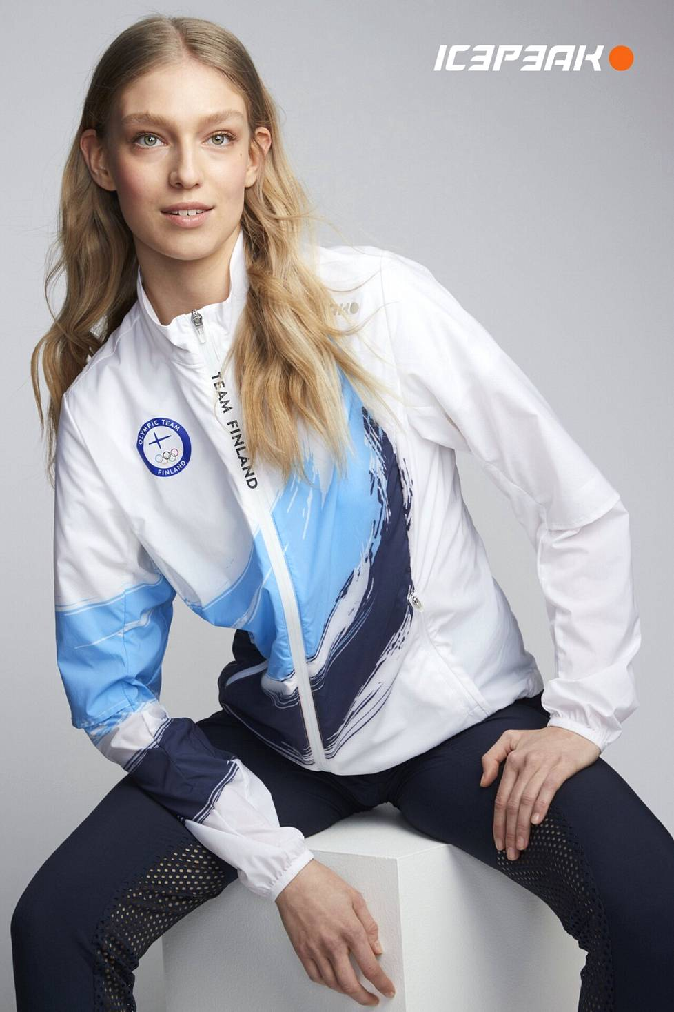 The outfits of the Tokyo 2021 Finnish race team were made by Luhta.