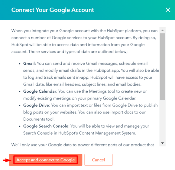connect-your-Google-account