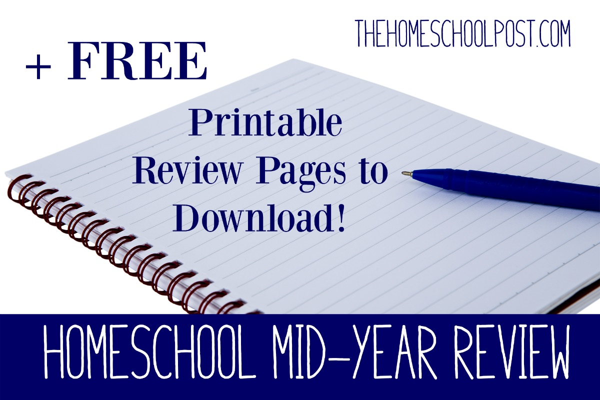 Homeschool Mid Year Review Free Printable Review Pages