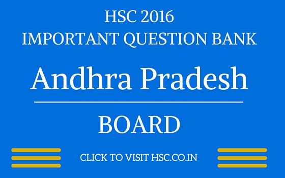 andhra pradesh HSC 2016 IMPORTANT QUESTION BANK
