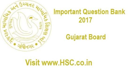 HSC/12th Std Gujarat Board