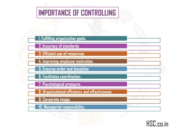 important of controlling