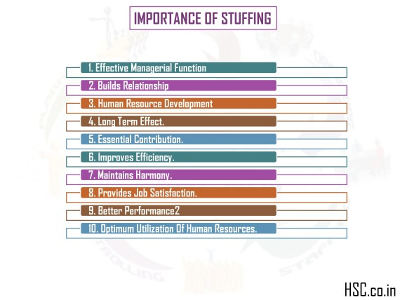 importance of stuffing