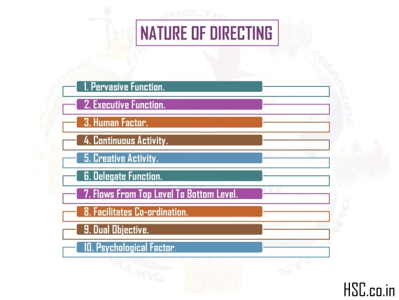 nature of directing