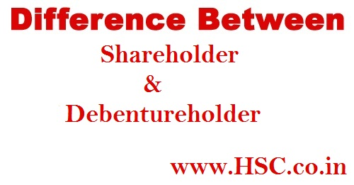 debenture holder &Shareholder