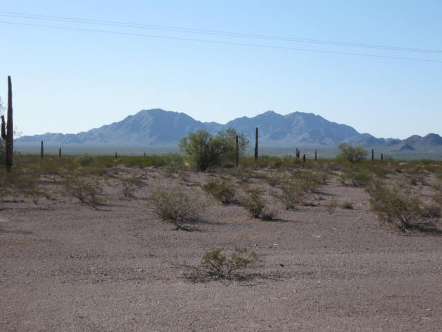 A popular place to boondock is Quartzsite, Arizona.