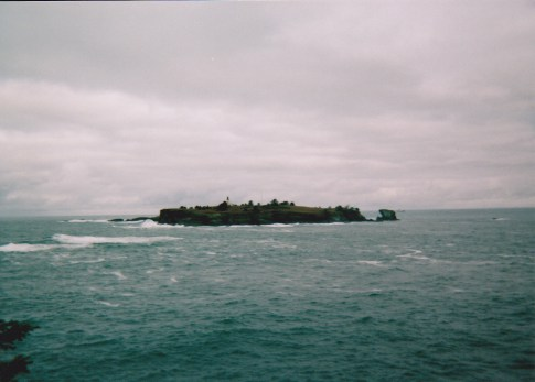 Photo by H.S. Cooper © Tatoosh Island and lighthouse