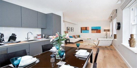 9 Bright and Charming Apartments in Florence House, Tudor Street, Blackfriars, EC4