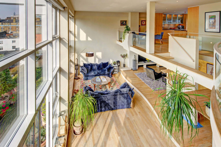 Stunning Duplex penthouse in the heart of Clerkenwell,