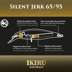 ikiru silent jerk 65mm roach 1