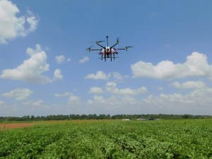 Controlling Weeds with Drones | UAV spraying weeds