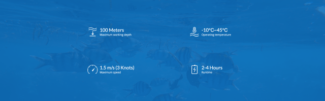 underwater drone specifications