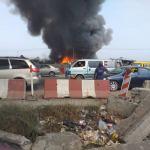 Just In: Fire Burns Popular Kara Cattle Market