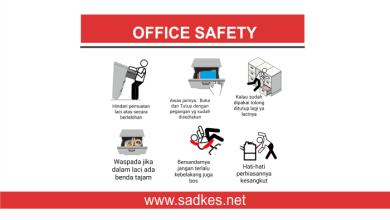 Photo of Materi Safety Talks : Office Safety yang Harus Kamu Ketahui