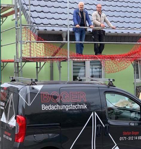 Unser Partner Boger Bedachungstechnik wird uns auch 2020/2021 erhalten bleiben!