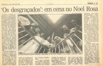 JORNAL - O GLOBO 1991 - MATÉRIAK