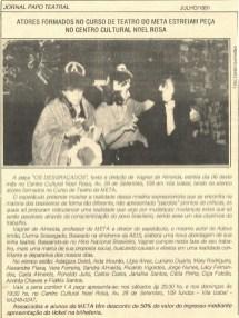 JORNAL PAPO TEATRAL - 1991K
