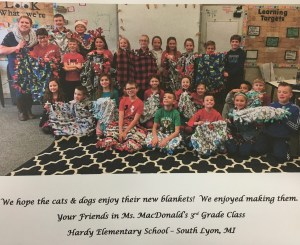 3rd Grade Gives Back