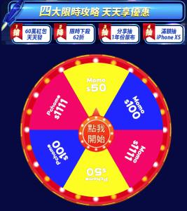 fans play 轉輪盤