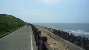 新竹美麗的海岸
