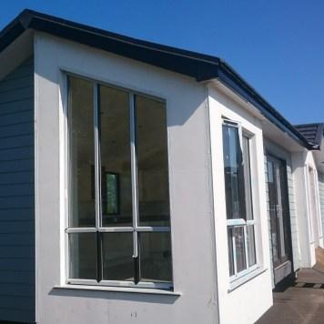 Left side modular home.