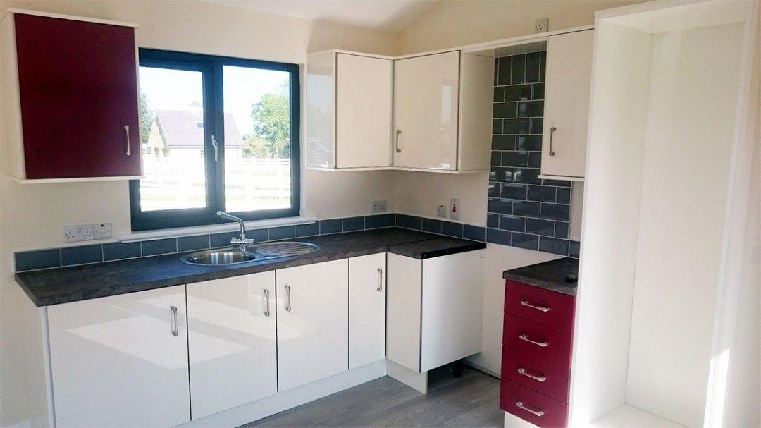 modular homes kitchen