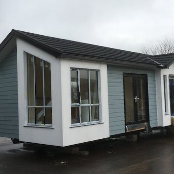 hsj modular home outside