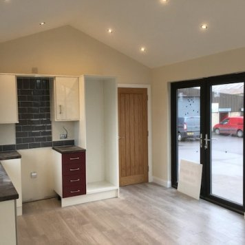 hsj modular home inside kitchen