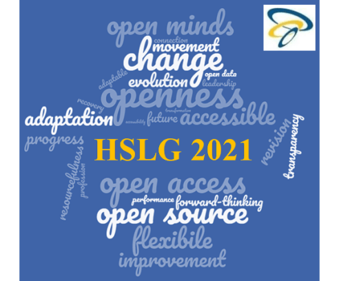 HSLG conference 2021 word cloud