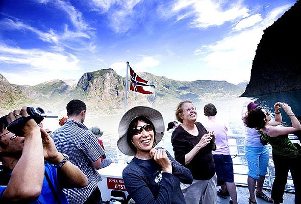 Fjordmotiv fra Fjord Tours AS