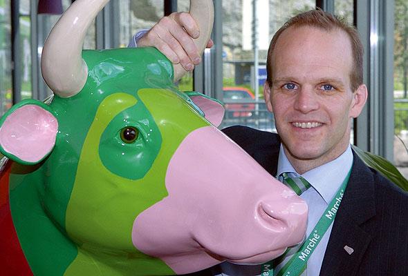 Mats Johansson, admiinistrerende direktør i Marché Restaurants Norge