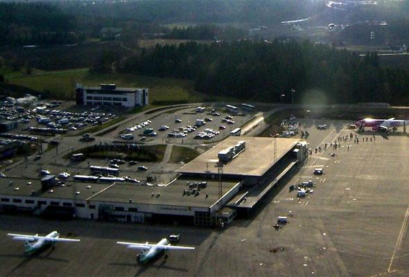 Foto: Sanfjord Lufthavn, Torp. (Wikimedia Commons)