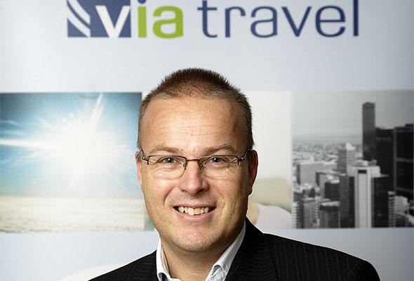 Carl Barth, salgsdirektør i VIA Travel Norge