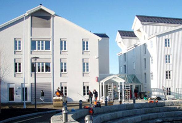 Fasaden på Thon Hotel Kristiansund