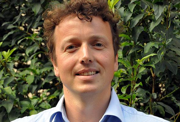 Arne Bertelsen, daglig leder på Frogner House i Oslo