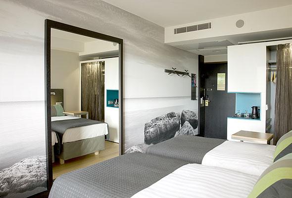 Et standardrom på Radisson Blu Hotel Espoo