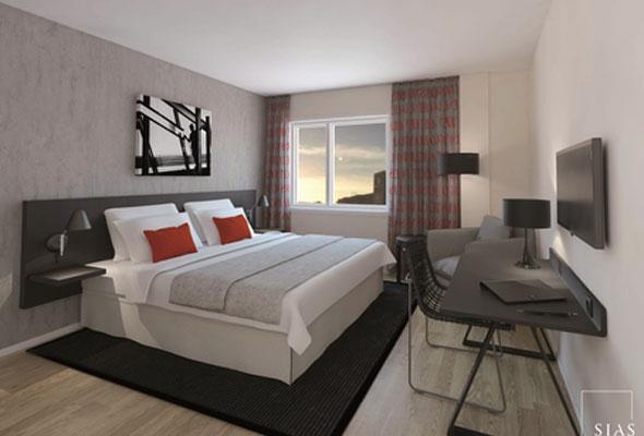 Rom på First Hotel Ambassadeur i Drammen