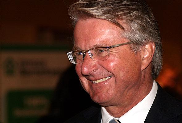 Oslo-ordfører Fabian Stang (H) åpner HSMAI-dagen 2012. Fotograf: GAD/Wikimedia Commons