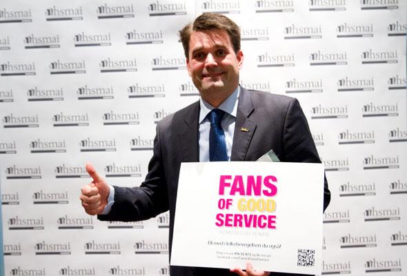 Jörgen Ljunggren. Fans of good service